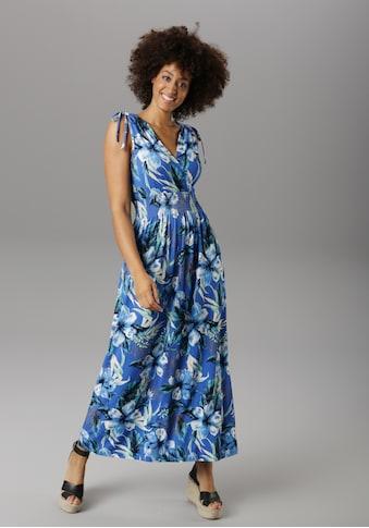Aniston SELECTED Strandkleid, mit Wickel-Ausschnitt - NEUE KOLLEKTION kaufen