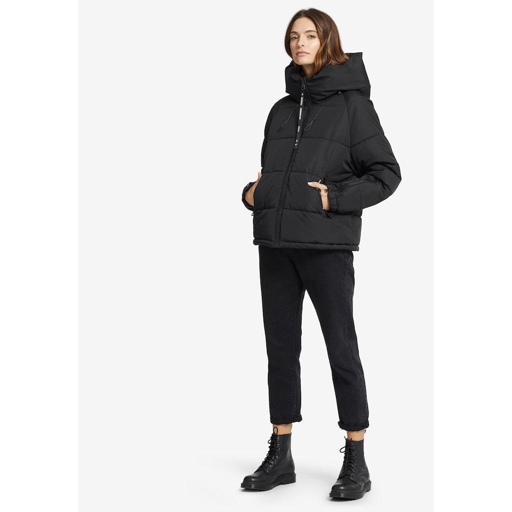 khujo Steppjacke »ALEXIA«, stylische Damen Winterjacke mit Kapuze