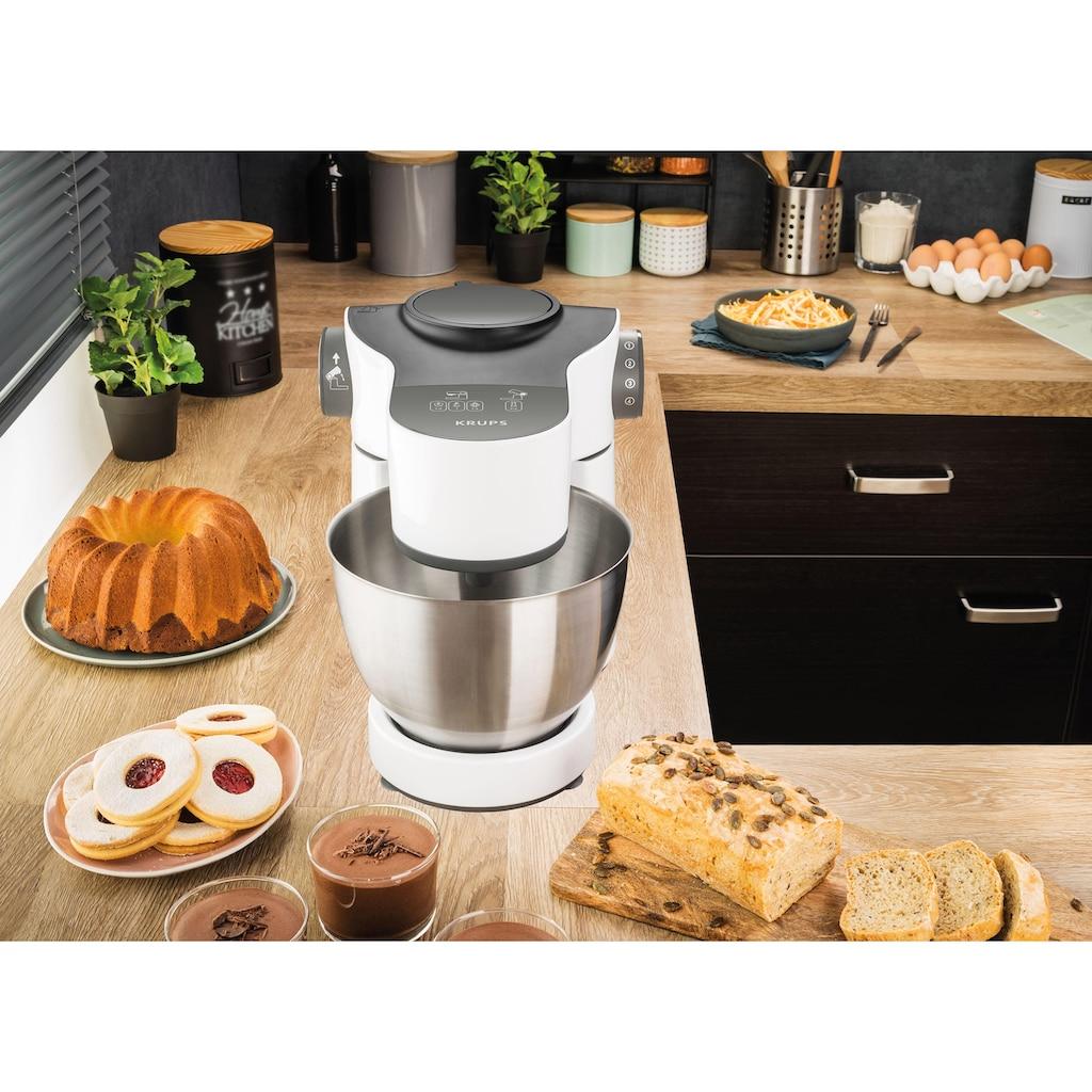 Krups Küchenmaschine »KA3121 Master Perfect«, mit umfangreichem Zubehör, 7 Geschwindigkeiten
