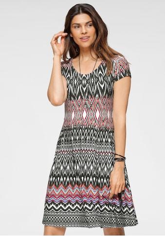 Boysen's Jerseykleid, im modischem Ethno-Look kaufen