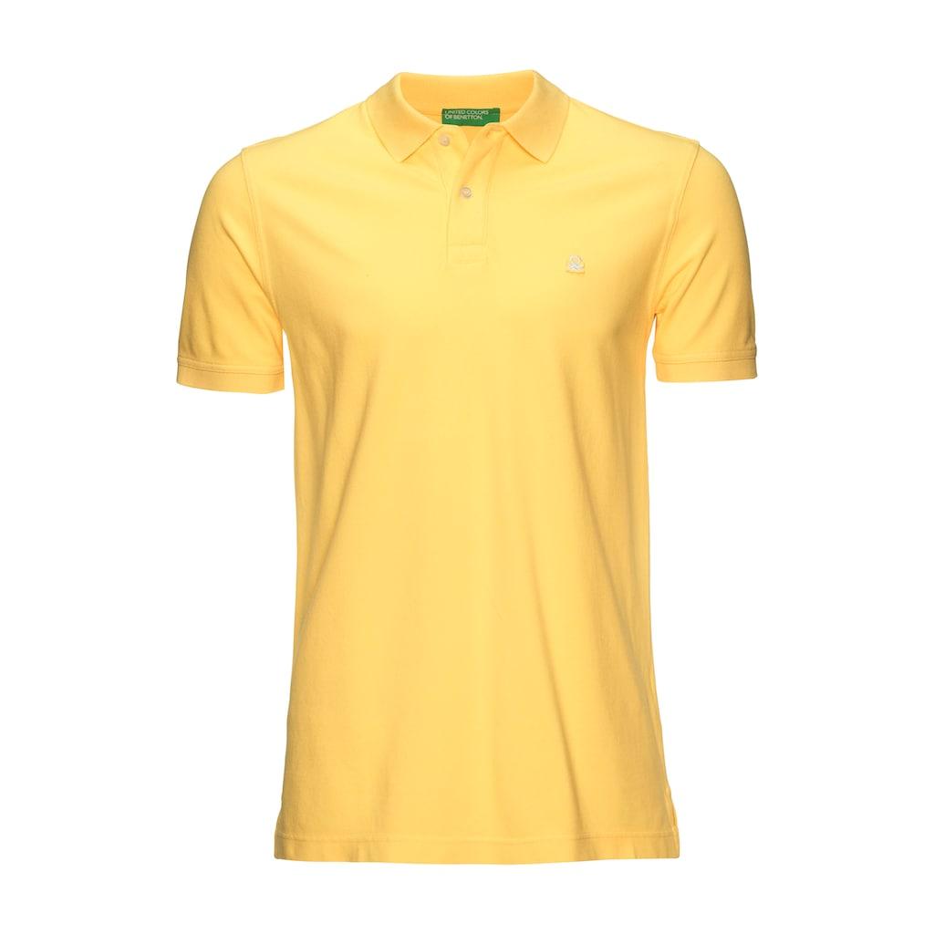 United Colors of Benetton Poloshirt, in Piqué-Qualität