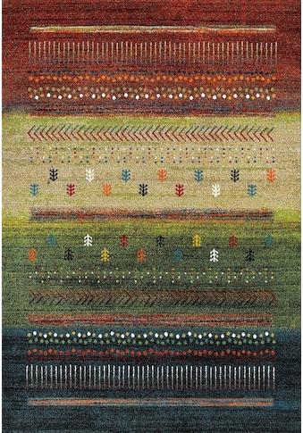 Teppich, »ETHNO«, merinos, rechteckig, Höhe 13 mm, maschinell gewebt kaufen