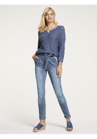 Jeans mit Bindegürtel kaufen