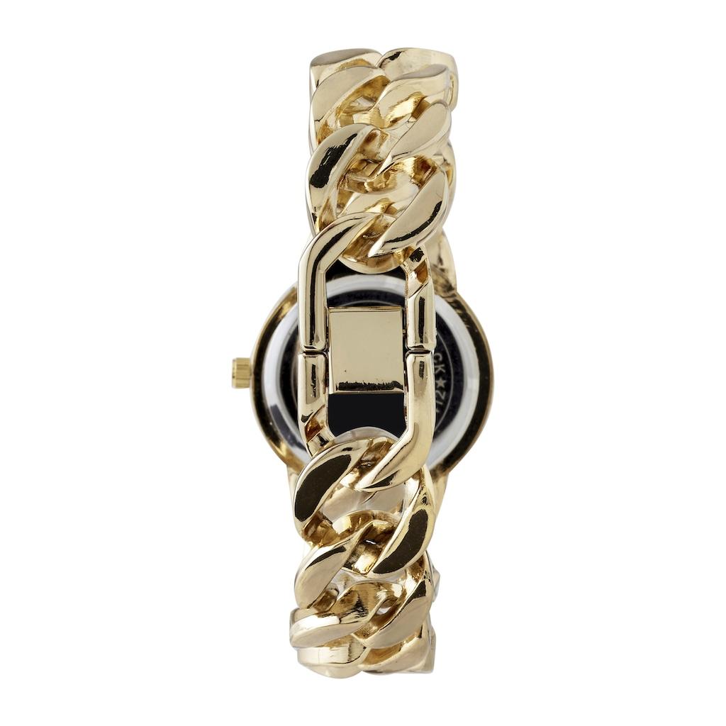 Armbanduhr mit Schmucksteinen