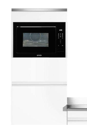 GORENJE Einbau-Mikrowelle »BM251S7XG«, Mikrowelle-Grill und Heißluft, 900 W kaufen