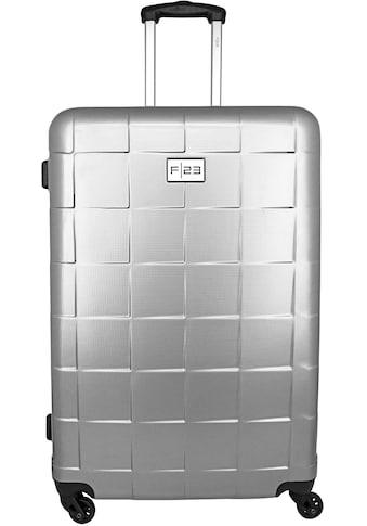 """F23™ Hartschalen - Trolley """"Wave 3.0, 78 cm, silberfarben"""", 4 Rollen kaufen"""