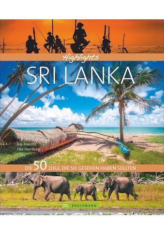 Buch »Highlights Sri Lanka / Elke Homburg, Kay Maeritz« kaufen