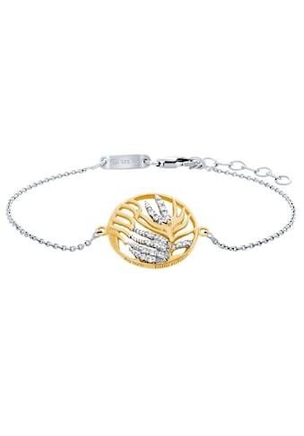 Julie Julsen Armband »PALMENBLATT, JJBR0837.3«, mit Zirkonia (synth.) kaufen