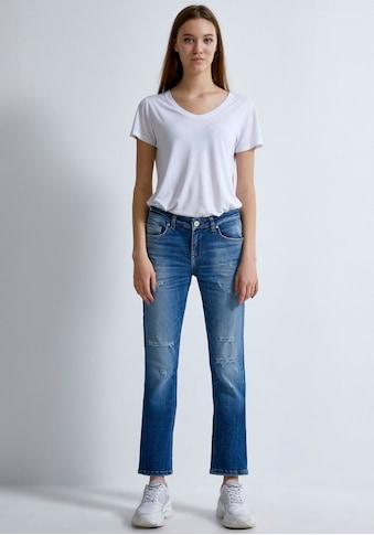 LTB Gerade Jeans »ASPEN Y«, mit coolen Destroyed-Effekten im 5-Pocket Stil kaufen