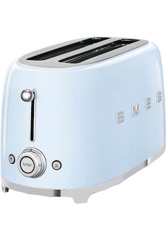 Smeg Toaster »TSF02PBEU«, 2 lange Schlitze, für 2 Scheiben, 1500 W kaufen