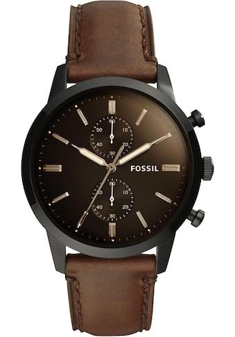 Fossil Chronograph »44MM TOWNSMAN, FS5437« kaufen