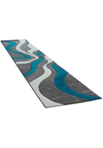 Paco Home Läufer »Diamond 760«, rechteckig, 18 mm Höhe, Teppich-Läufer, Kurzflor,... kaufen