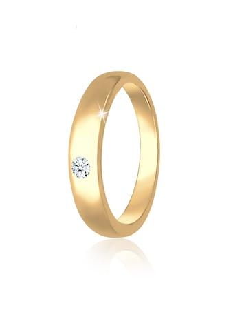 Elli Kettenanhänger »Kinder Taufring Diamant (0.005 ct.) 585 Gelbgold« kaufen
