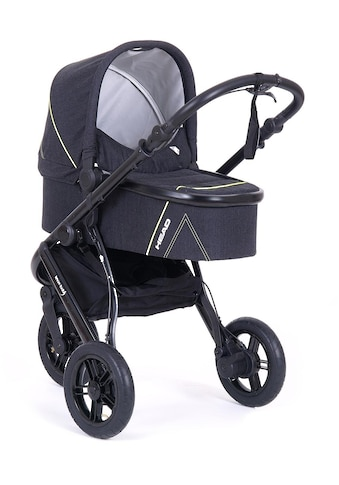 Knorrbaby Jogger-Kinderwagen »HeadSport 3, darkgrey-yellow«, Kinderwagen, Jogger,... kaufen