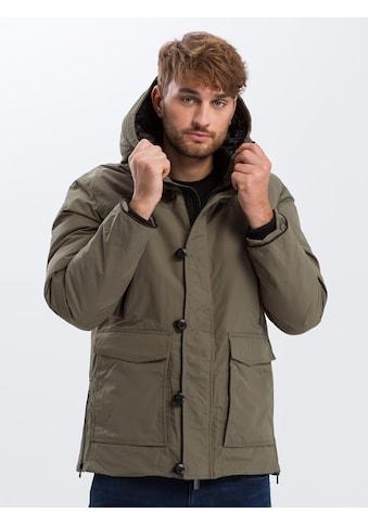Cross Jeans® Winterjacke »40226«, Warmer Parka kaufen