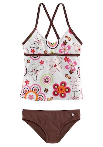 s.Oliver Beachwear Tankini, im verspielten Floraldesign kaufen