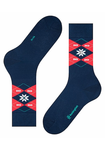 Burlington Socken »Xmas Argyle«, (1 Paar), mit Burlington-Clip kaufen