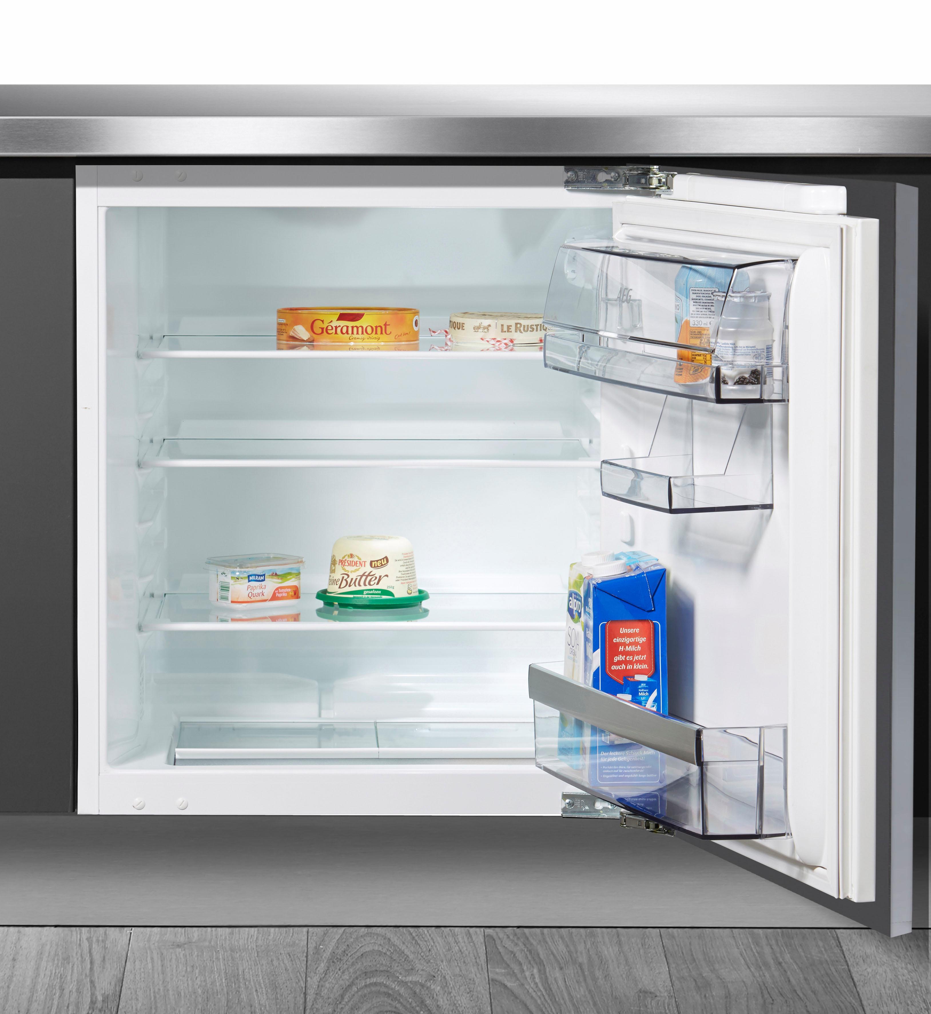 Perfekt AEG Einbaukühlschrank, 81,5 Cm Hoch, 59, 6 Cm Breit