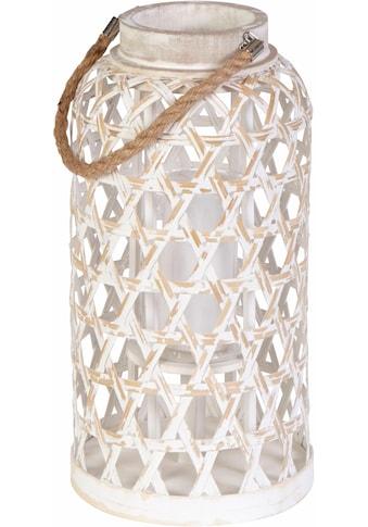 Home affaire Laterne »Bambus und Glas« kaufen