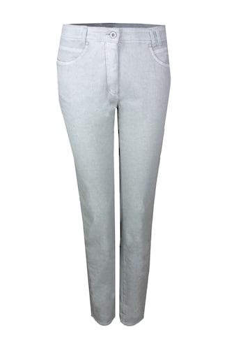 bianca 5-Pocket-Hose »SHAPE«, im grau melierten Design kaufen