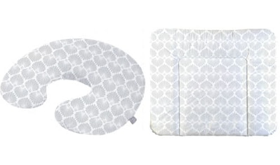 Rotho Babydesign Wickelauflage »Seashell Shape«, inklusive Stillkissen Mini; Made in... kaufen