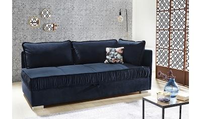 Jockenhöfer Gruppe Relaxliege, inkl. Deko-Kissen, Federkern und großen Stauraum im trendigen Design kaufen