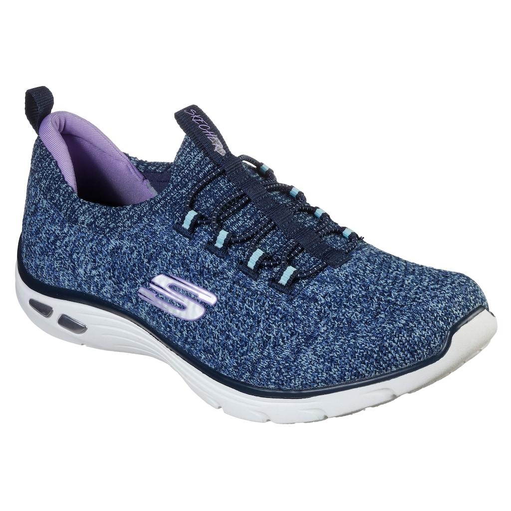 Skechers Slip-On Sneaker »EMPIRE D'LUX - SHARP WITTED«, mit Bio-Dri-Ausstattung