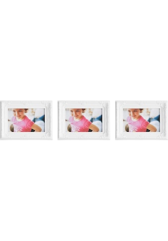 Home affaire Bilderrahmen, (Set, 3 St.), Fotorahmen, weiß, Bildformat 10x15 cm kaufen