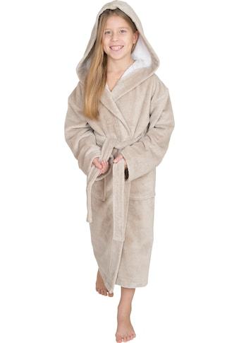 Wewo fashion Kinderbademantel »8521«, (1 St., mit Gürtel), mit Soft Touch kaufen