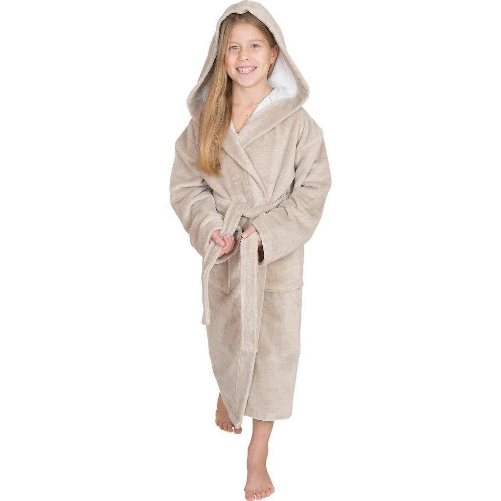 Wewo fashion Kinderbademantel »8521«, mit Soft Touch