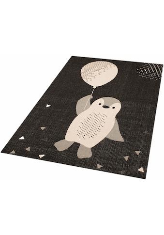 Zala Living Kinderteppich »Pinguin Rico«, rechteckig, 4 mm Höhe, Spielteppich,... kaufen