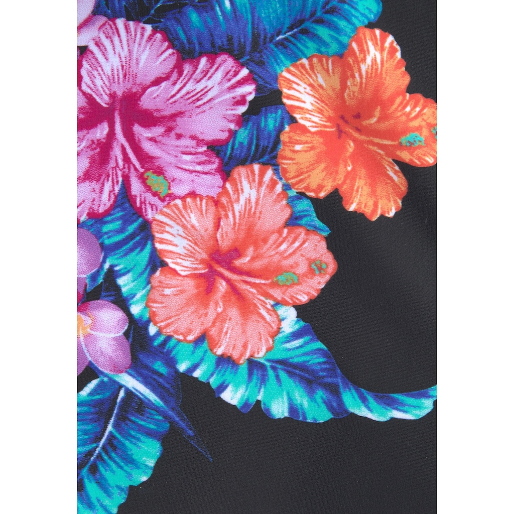 LASCANA Bügel-Tankini, mit tropischem Blumenprint