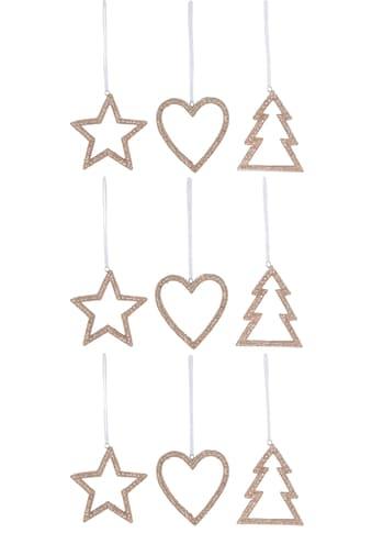 CHRISTMAS GOODS by Inge Dekohänger »Herz - Stern - Tannenbaum« kaufen