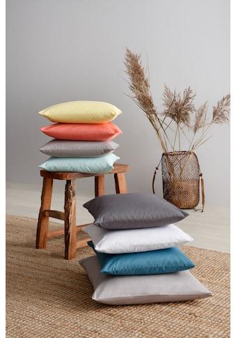 OTTO products Kissenhüllen »Neele«, (2 St.), aus reiner Bio-Baumwolle kaufen