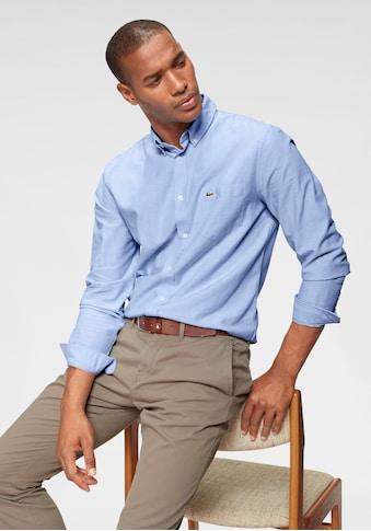 Lacoste Langarmhemd, Oxford kaufen
