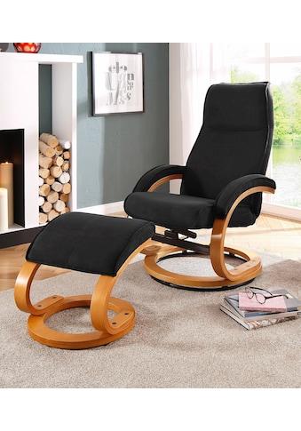 Home affaire Relaxsessel »Paris«, in unterschiedlichen Bezugs- und Farbvarianten, Sitzhöhe 46 cm kaufen