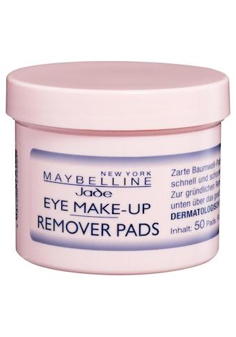 MAYBELLINE NEW YORK Augen-Make-up-Entferner »Eye Make-Up Remover Pads« kaufen