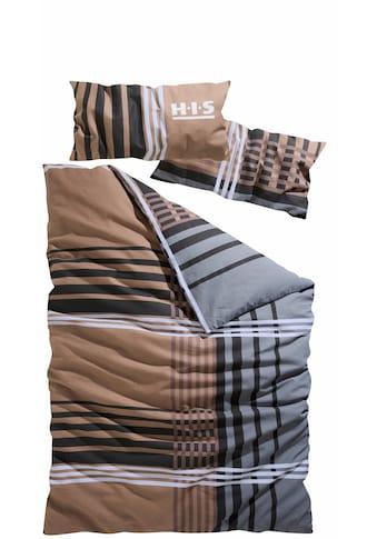 H.I.S Bettwäsche »Philip«, mit Streifen kaufen