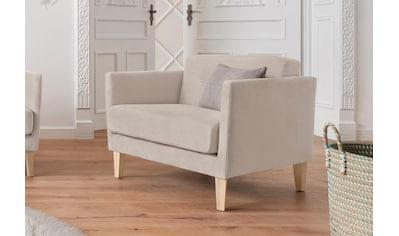andas Sessel »Raadal«, in geradliniger skandinavischer Optik, mit Knopfheftung, Design by Morten Georgsen kaufen