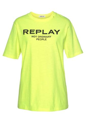 Replay Oversize - Shirt kaufen