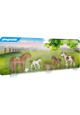Playmobil® Konstruktions-Spielset »Ponys mit Fohlen (70682), Country«, (6 St.), Made... kaufen