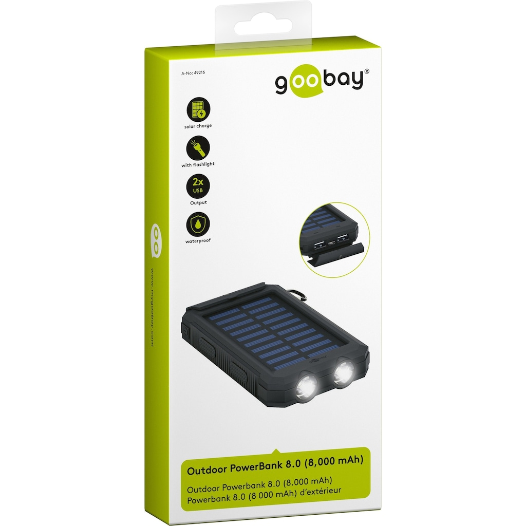 Goobay Outdoor Powerbank Solar