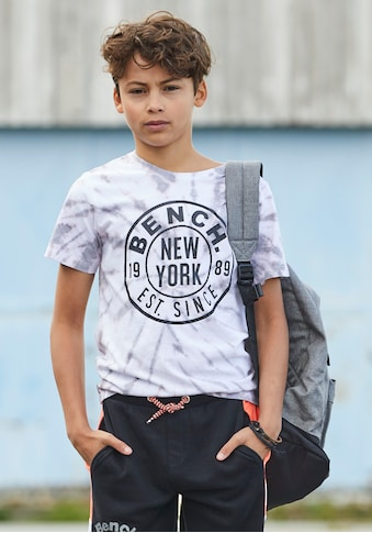 Bench. T-Shirt »in toller Batikoptik« kaufen