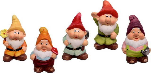 Gartenfiguren Zwerge