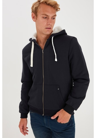Blend Kapuzensweatjacke »Mit Zipper und geteilter Kängurutasche« kaufen