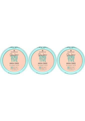 Essence Puder »Skin Lovin' SENSITIVE MINERAL POWDER«, (Set, 3 tlg.) kaufen