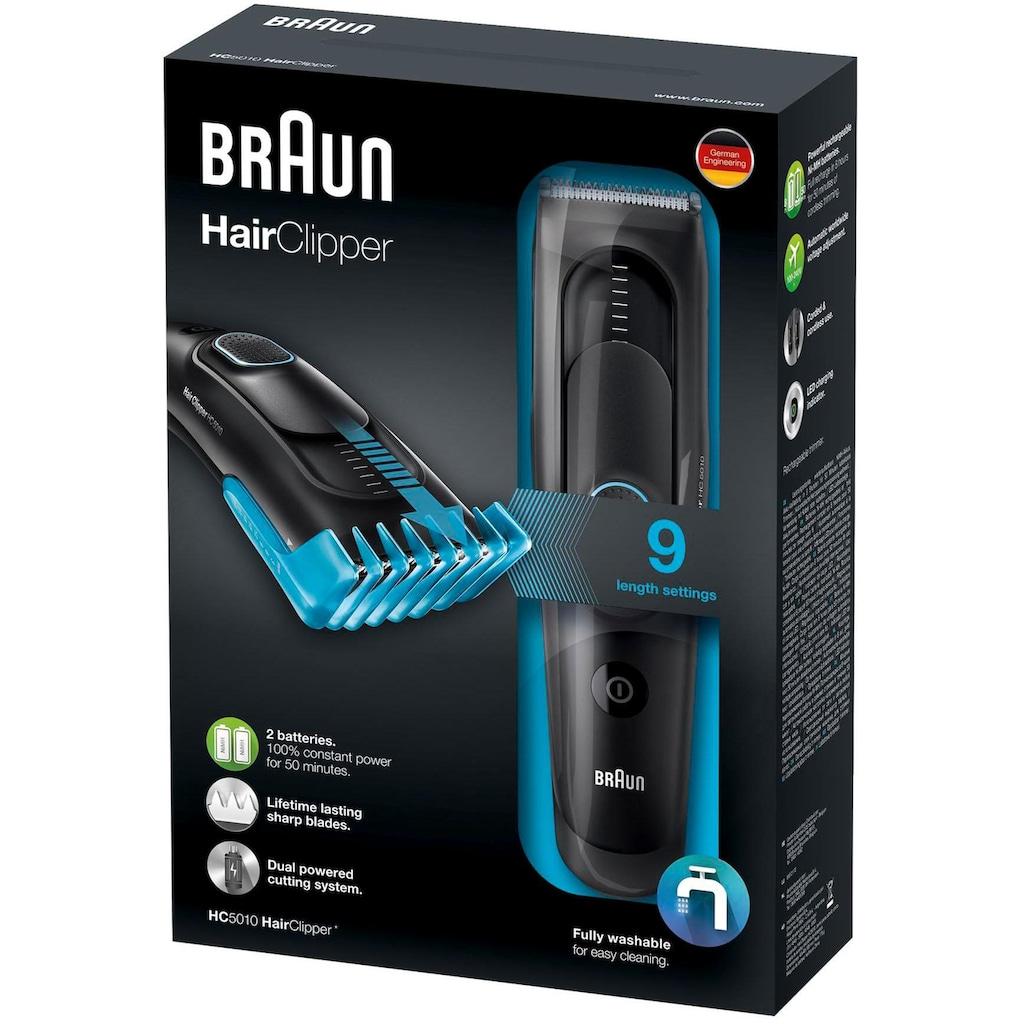 Braun Haar- und Bartschneider »HC5010«, 1 Aufsätze, ultimatives Haarschneiden, Erlebnis von Braun in 9 Längen