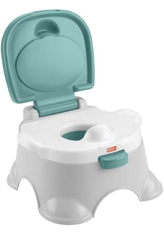 Fisher-Price® Töpfchen »3in1«, mit Trainingstoilettenring und Fußbank kaufen