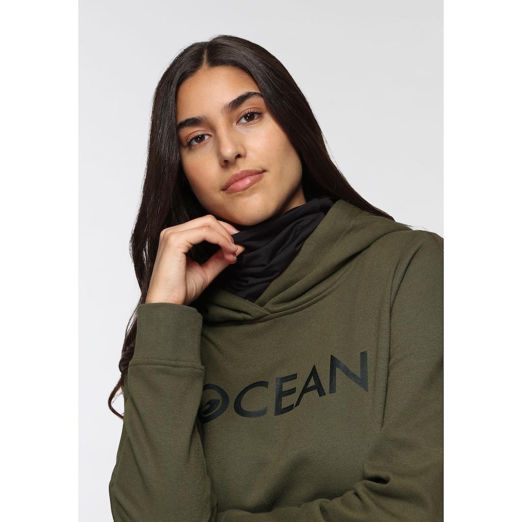 Ocean Sportswear Kapuzensweatshirt »mit Multifunktionaler Tube Schal«
