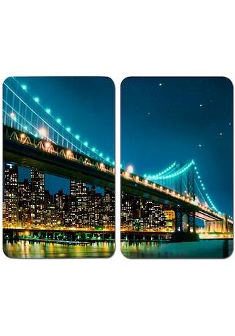 WENKO Herd-Abdeckplatte »Brooklyn Bridge«, kratzfest kaufen